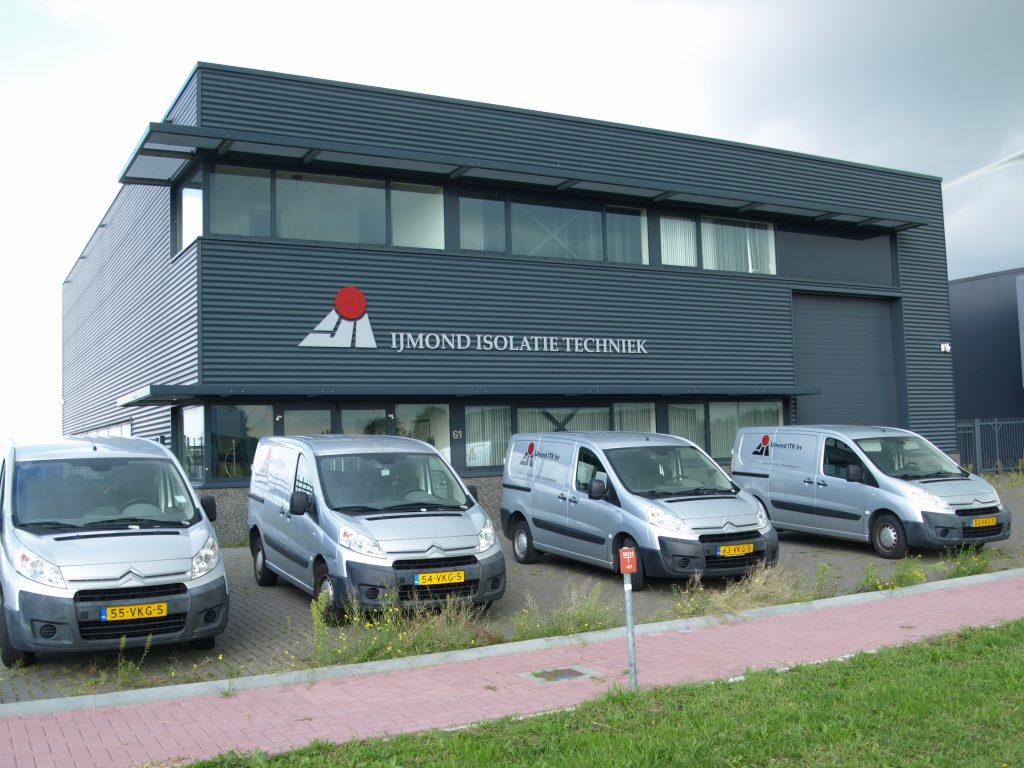 IJmond isolatie techniek hoofdkantoor