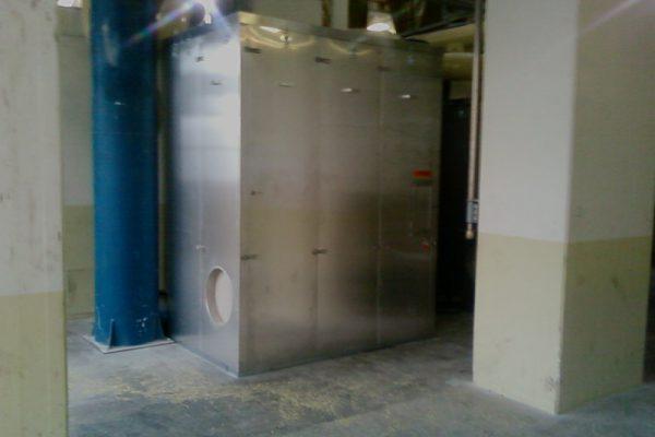 geluidskast compressor