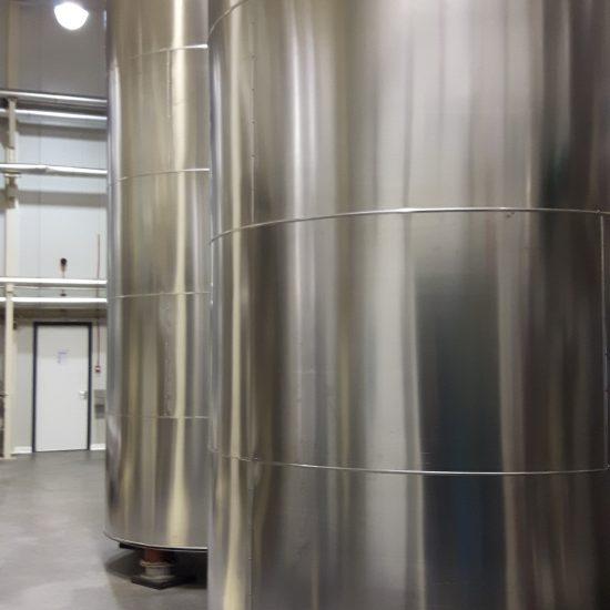 massatanks met isolatie door IJmond ITK