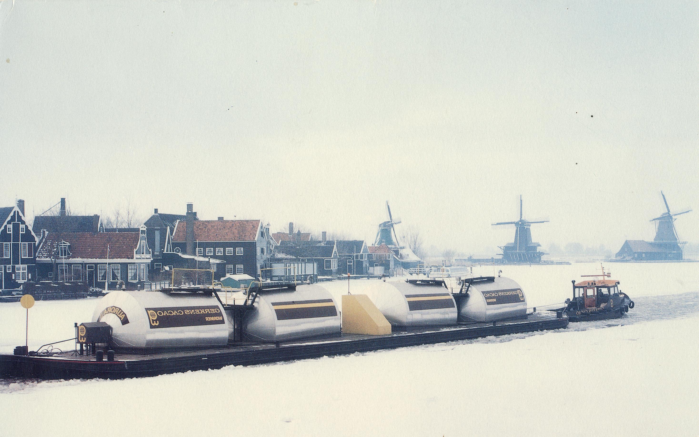 tankboot geïsoleerd door Ijmond ITK